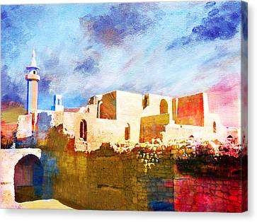 Jordan 02 Canvas Print by Catf