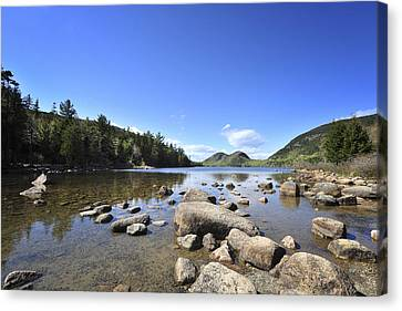 Jordan Pond Canvas Print by Terry DeLuco