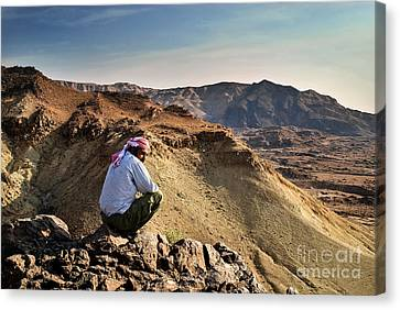Jordanian Beduin Canvas Print by Dan Yeger