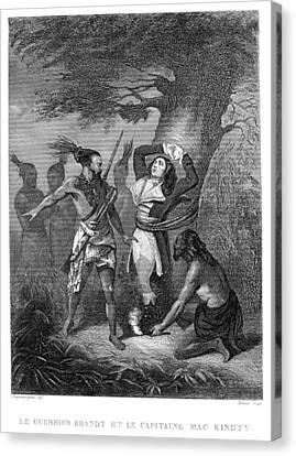 Joseph Brant (1742-1807) Canvas Print by Granger