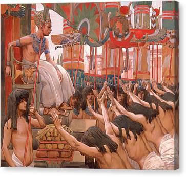 Joseph Dwellith In Egypt  Canvas Print by Mountain Dreams