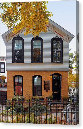 Joseph J O'connell House Chicago Canvas Print by Christine Till