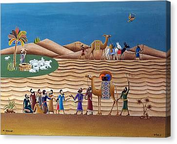 Joseph Sold By His Brothers Canvas Print by Heinz Seelig