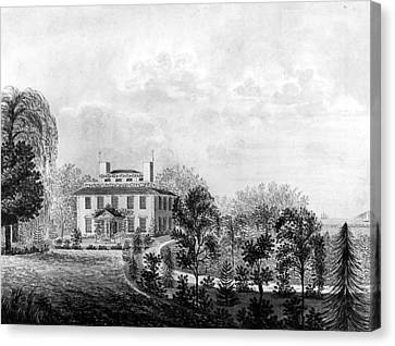Josiah Quincy House Canvas Print by Granger