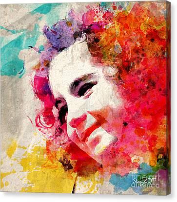 JOY Canvas Print by Donika Nikova