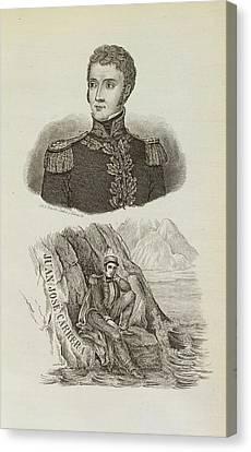 Juan Jose Carrera Canvas Print by British Library