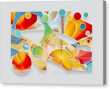 Jubilation Canvas Print by Gayle Odsather