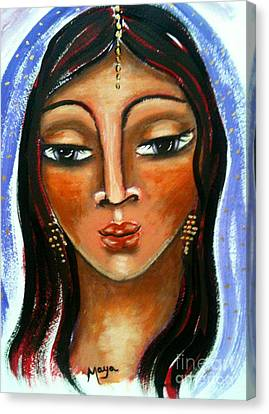Judith Canvas Print by Maya Telford