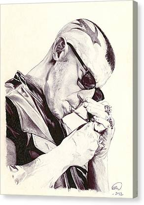 Juice Ortiz Canvas Print by Kyle Willis