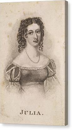 Julia Johnstone Canvas Print by British Library