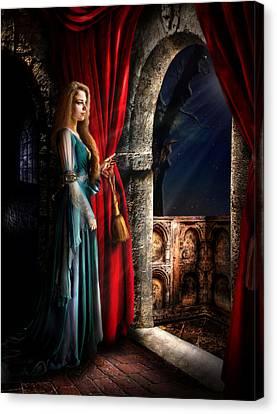 Juliet Canvas Print by Alessandro Della Pietra