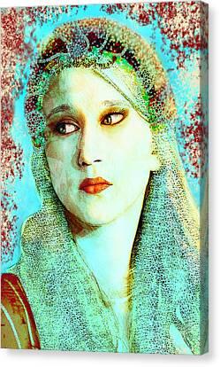 Juliet Canvas Print by Leticia Rivera-Uttich