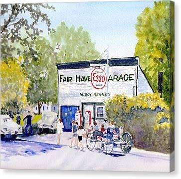 July Fair Haven Ny Canvas Print by Carol Burghart