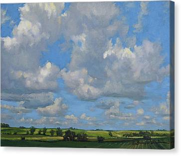 July In The Valley Canvas Print by Bruce Morrison