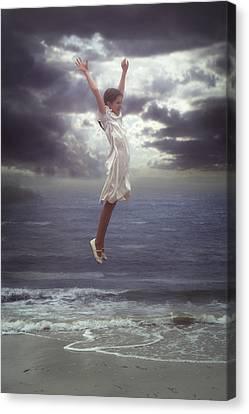 Jumping Canvas Print by Joana Kruse