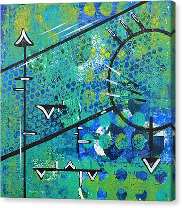 Juncture Canvas Print by Moon Stumpp