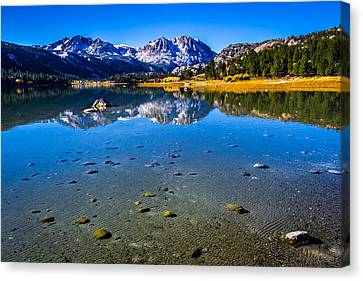 June Lake California Canvas Print by Scott McGuire