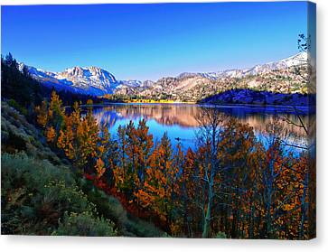 June Lake California Sunrise Canvas Print by Scott McGuire
