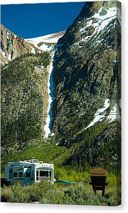 June Lake Loop Landscape Canvas Print by Celso Diniz