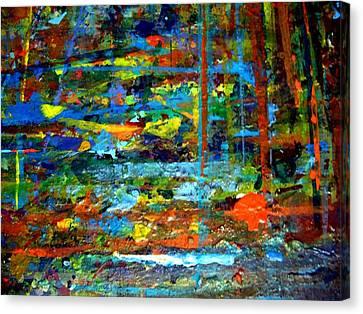 Jungle Boogie 130308-3 Canvas Print by Aquira Kusume