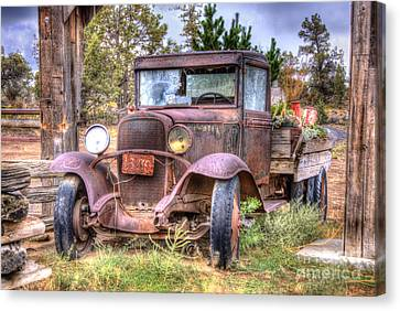 Junk Yard Special Canvas Print by Juli Scalzi