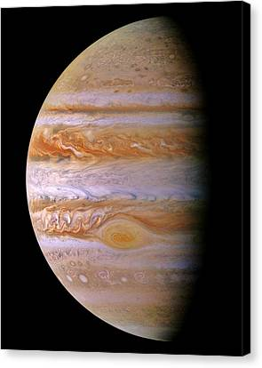 Jupiter And The Spot Canvas Print by Benjamin Yeager