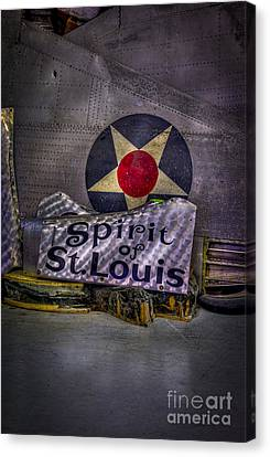 Just A Few Old Parts Canvas Print by Marvin Spates