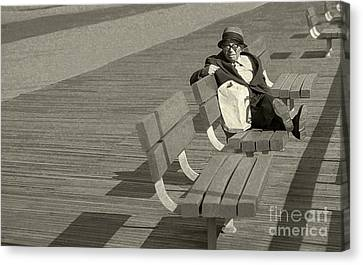 Just Chilling Canvas Print by Jeff Breiman