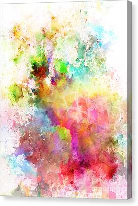Just Colors 6 Canvas Print by Artwork Studio