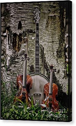 Just Country Music Canvas Print by Timothy J Berndt