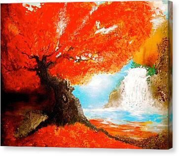 Just Like A Dream Canvas Print by Daniela Di Meglio