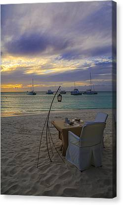 Just Sit Back Relax And Enjoy The Sunset Canvas Print by Eti Reid