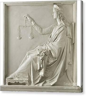 Justice Canvas Print by Fondazione Cariplo