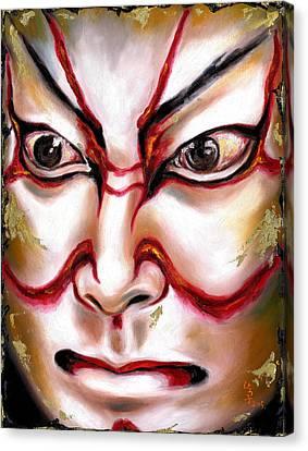 Kabuki One Canvas Print by Hiroko Sakai