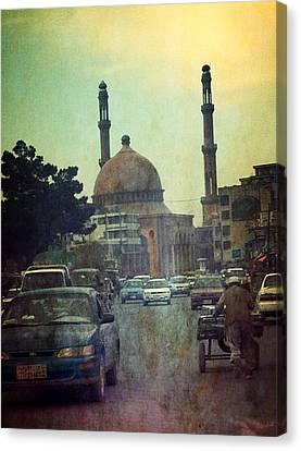 Kabul Diaries  Canvas Print by Fareeha Khawaja