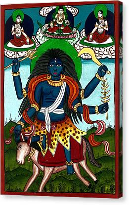 Kal Ratri Canvas Print by Ashok Kumar