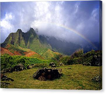 Kalalau Valley Kauai Canvas Print by Kevin Smith