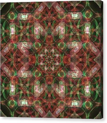 Kaleidoscopic Mandala  Canvas Print by Gregory Scott