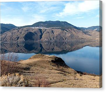 Kamloops Lake Canvas Print by Will Borden