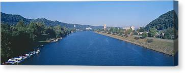 Kanawha River, Charleston, West Virginia Canvas Print by Panoramic Images