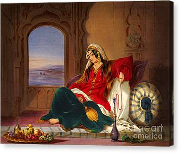 Kandahar Lady Of Ranks Canvas Print by Celestial Images