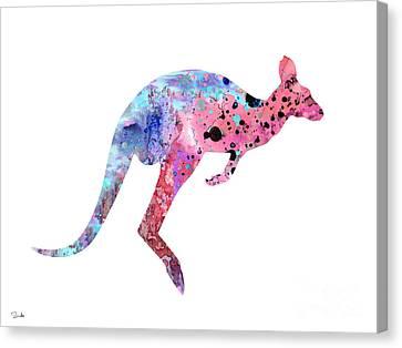 Kangaroo 2 Canvas Print by Luke and Slavi