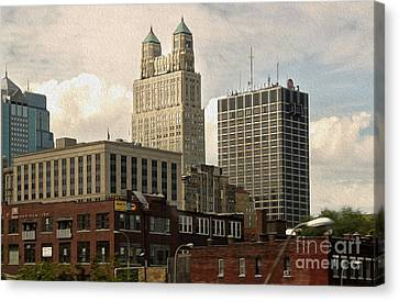 Kansas City - 03 Canvas Print by Gregory Dyer
