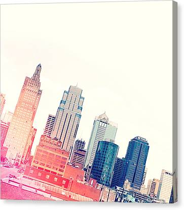 Kansas City #4 Canvas Print by Stacia Blase