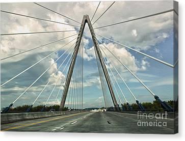 Kansas City Bridge - 01 Canvas Print by Gregory Dyer