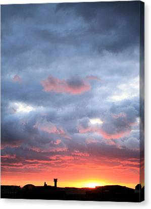 Kansas Sunset Canvas Print by JC Findley