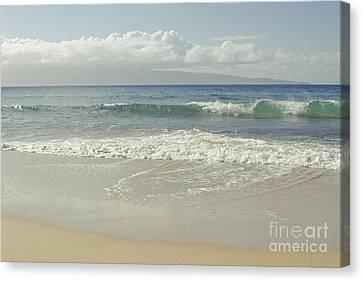 Kapalua - Aia I Laila Ke Aloha - Honokahua - Love Is There - Mau Canvas Print by Sharon Mau
