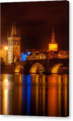 Karluv Most 2-prague Canvas Print by John Galbo