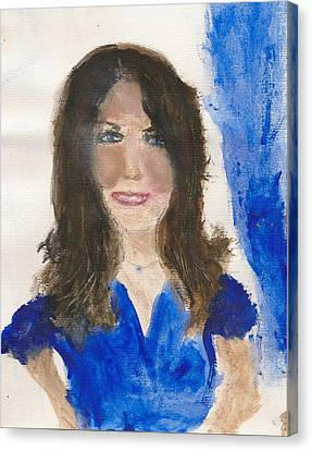 Kate Middleton Canvas Print by Angela Rose