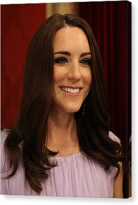 Kate Middleton Duchess Of Cambridge Canvas Print by Lee Dos Santos